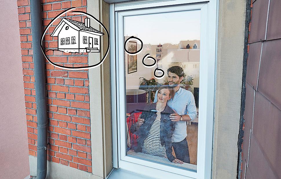Der Traum vom Eigenheim ist ungebrochen: Das zeigt die Corona-Pandemie einmal mehr. Foto: Bausparkasse Schwäbisch Hall / Scheyhing