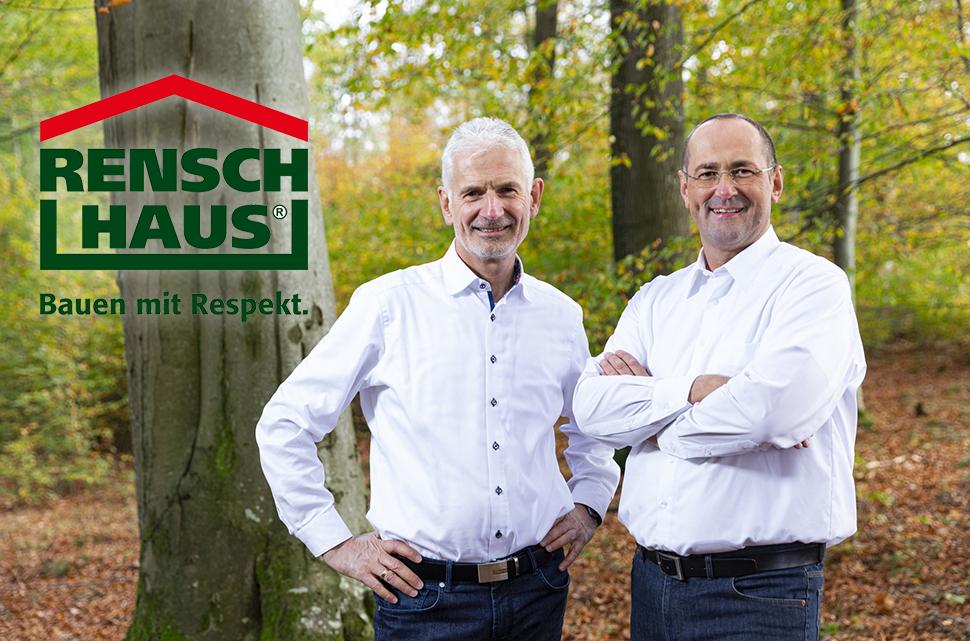 V.l.n.r. Geschäftsführer Martin Rensch, Dirk Wolschke -