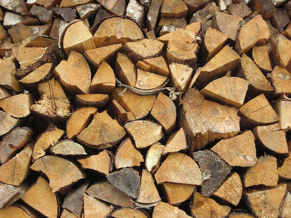 Die regenerative Energie Holz wärmt klimaneutral. Foto: HKI