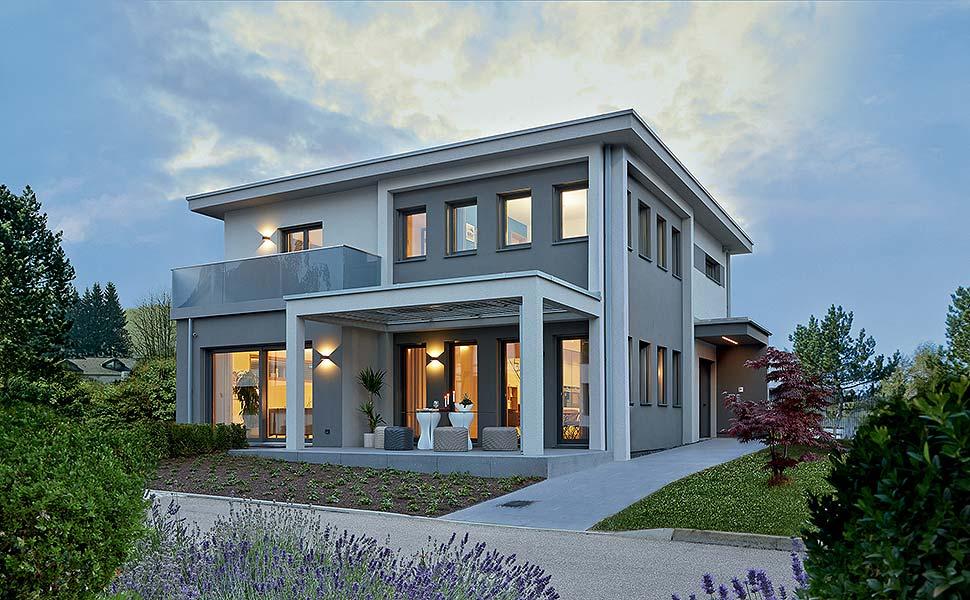 Jedes dritte Fertighaus wird als Smart Home geplant. Foto: BDF/WeberHaus