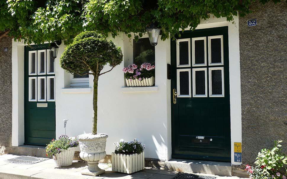 Die Haustür: Visitenkarte des Hauses. Foto: pixabay.com