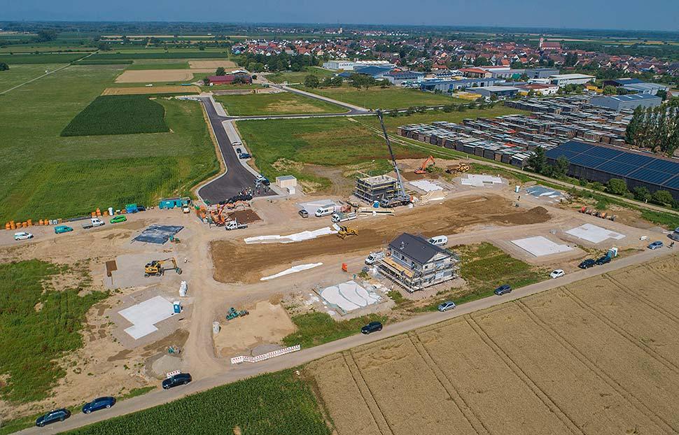 Das Baugrundstück in Kappel-Grafenhausen. Foto: BDF/ Emiliyan Frenchev
