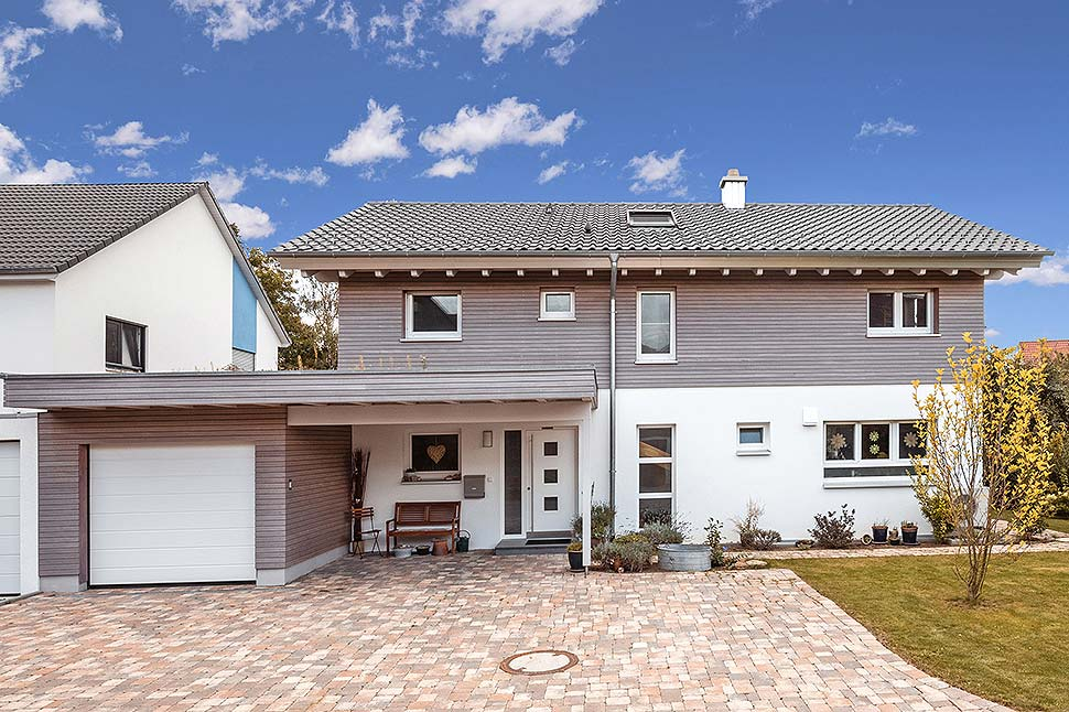 Über 1.000 Häuser hat Holzbau Braun errichtet. Foto: BDF / Holzbau Braun